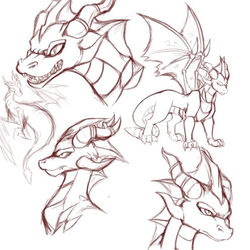 How To Draw A Dragon Awesome