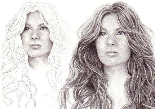 girl_drawing_hair_realistic_detailed_tutorial_sketch_people