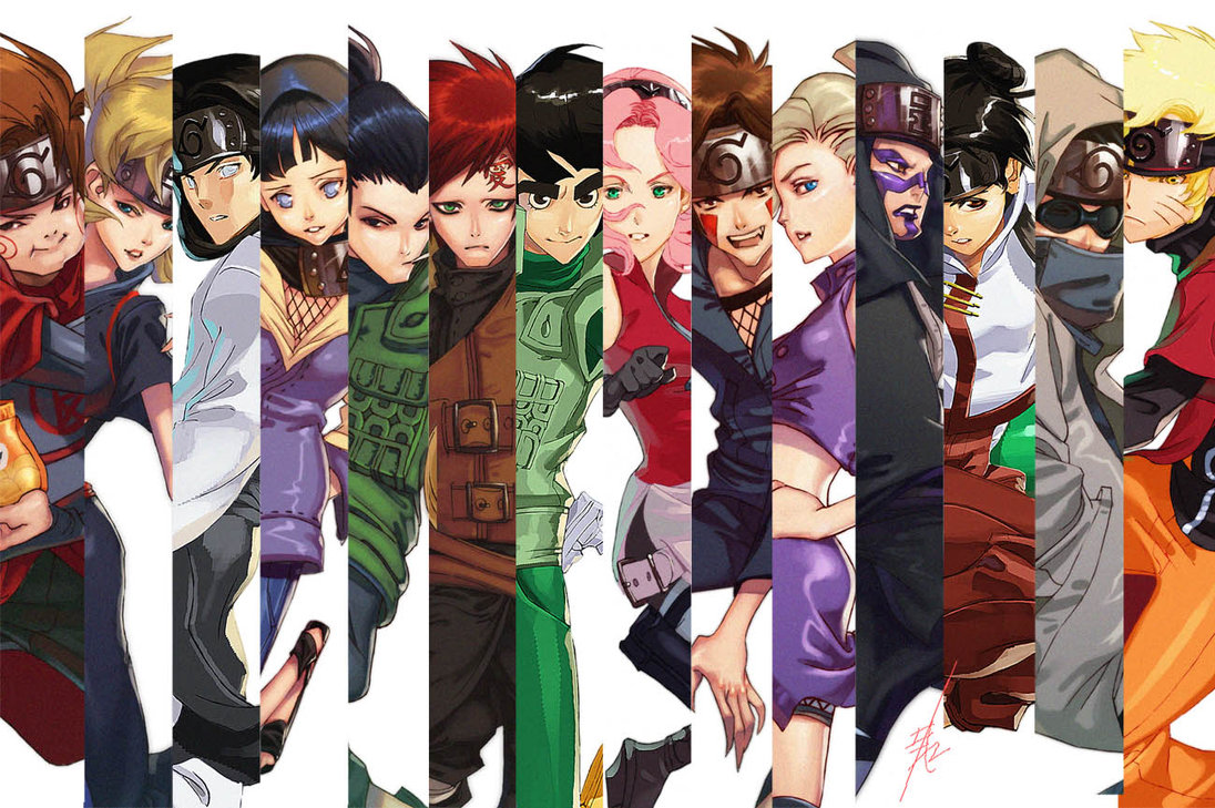 Favorite artworks thebarracuda57 artwork homepage - All naruto characters ...